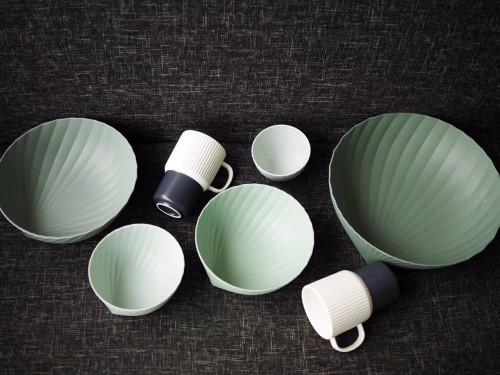 法毅对折简浸釉餐具组-杯子发布的晒单效果图及评价