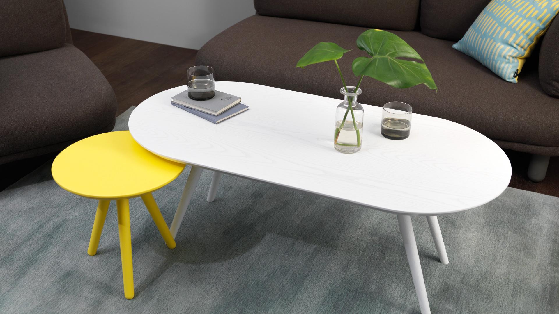 画板咖啡几-胶囊形 | Z-background Coffee Table