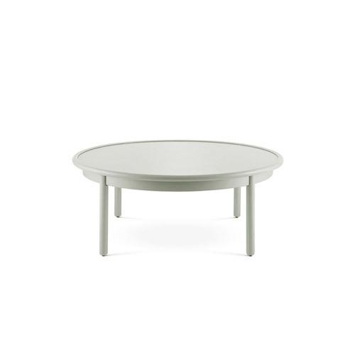 美术馆茶几大圆款桌几效果图