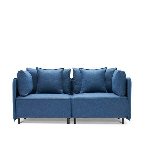 造作大先生沙发™双人座沙发效果图