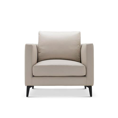 造作星期天沙发超韧人工皮版™单人座沙发效果图