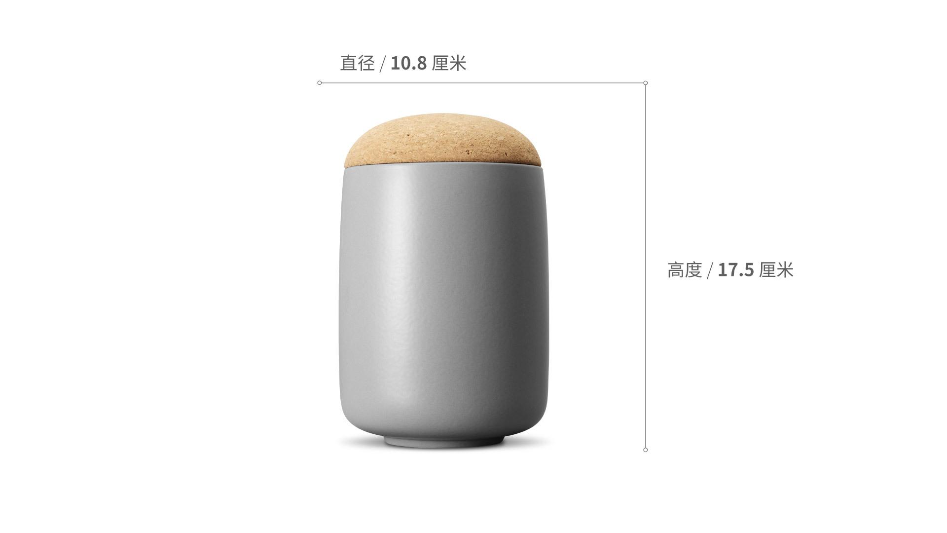 蘑菇储物罐高罐餐具效果图