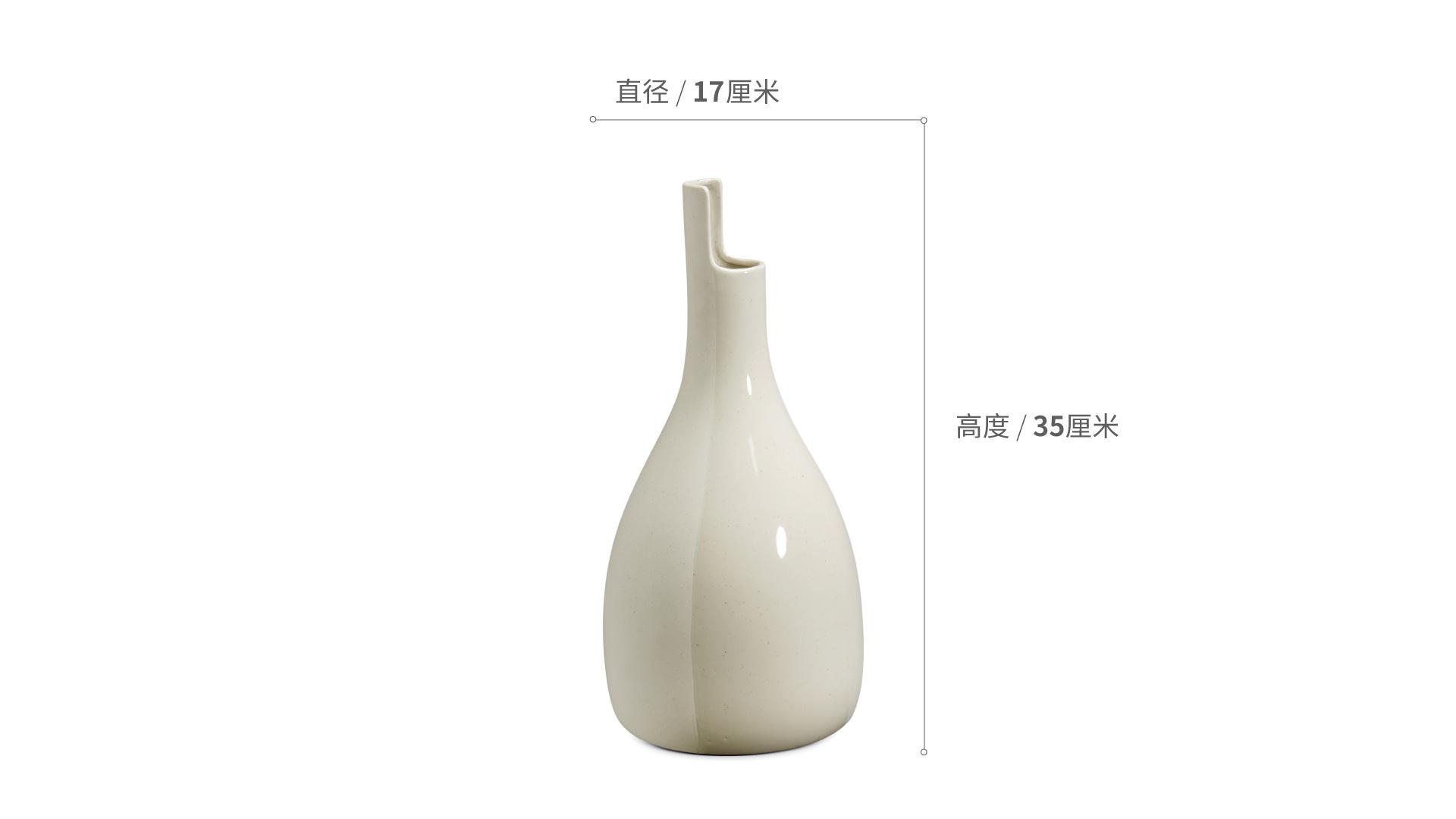 双生陶瓷花瓶大瓶装饰效果图