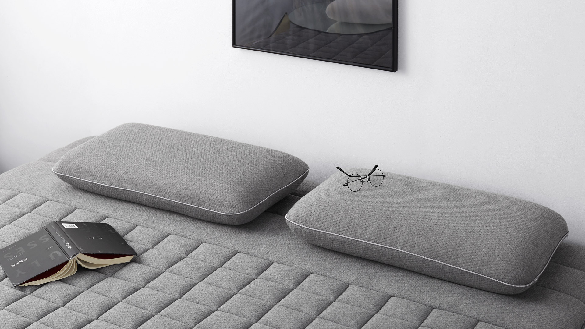 沉浸灰色调包裹,缓慢过渡睡前时光