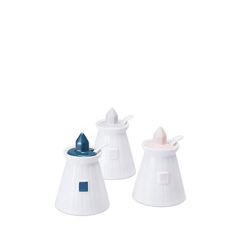 灯塔调料罐3件套
