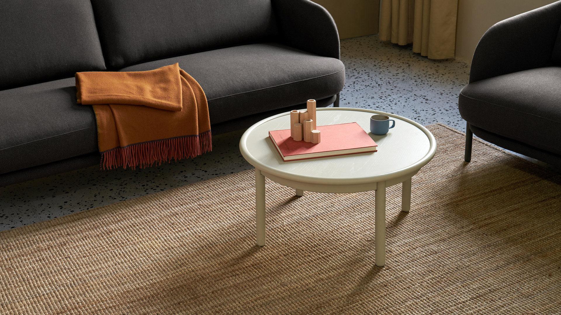 把视线收拢,为紧凑客厅释放空间