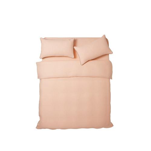 山茶双层纱床品
