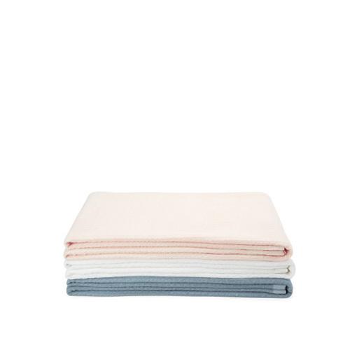 棉花糖立体色织纱布毛巾被