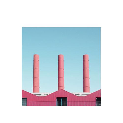 旅行家限量画芯 | Giorgio Stefanoni作品3号-空间之间3(装裱后)装饰效果图