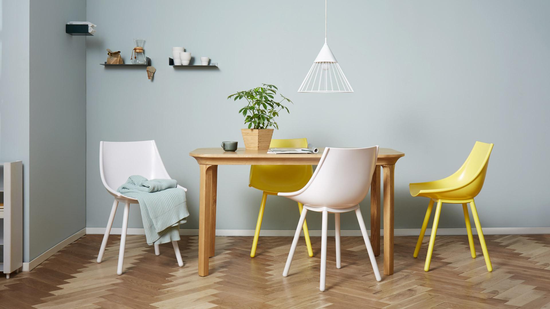 与食为伴,轻快明媚的餐椅