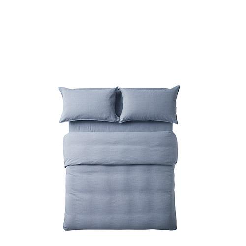 香草棉麻色织4件套床品