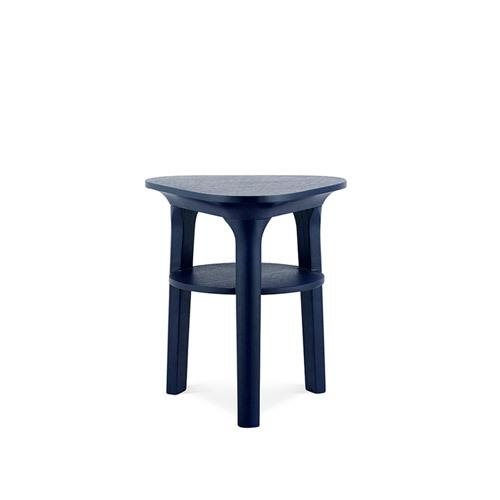 瓦檐边桌三角形边桌柜架效果图