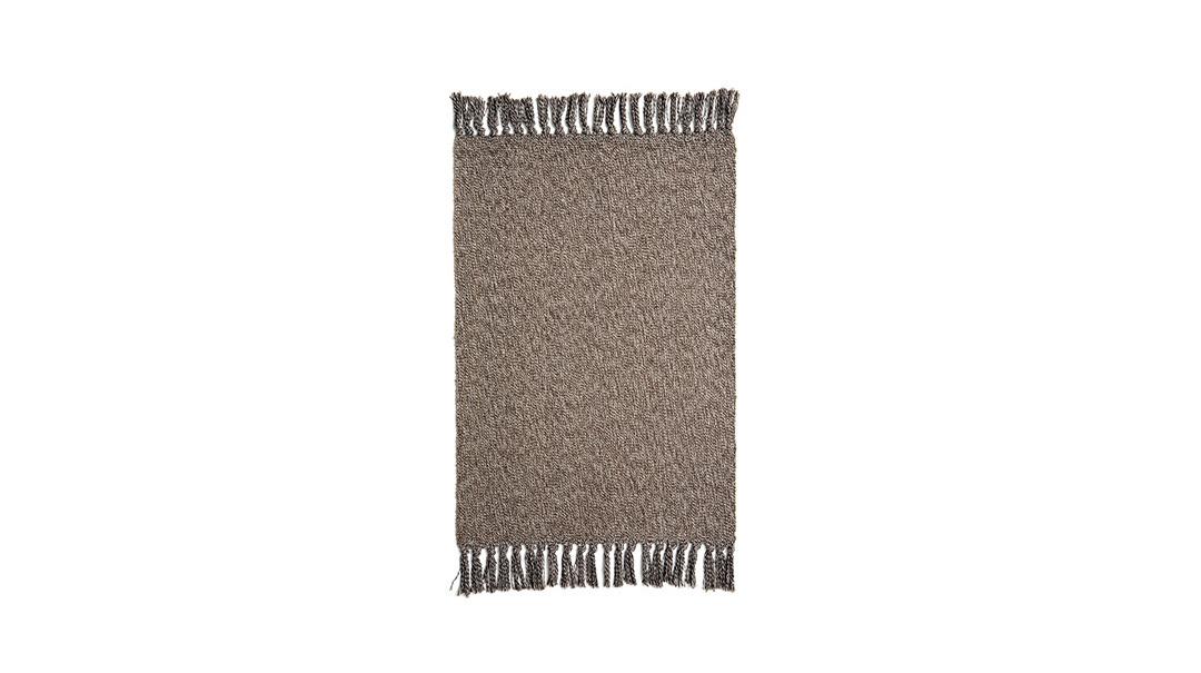 花岩纯棉手织地垫小号家纺