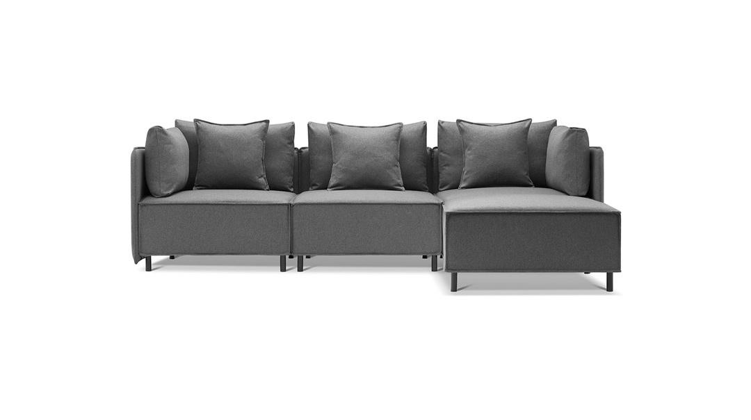 造作大先生沙发™转角三人座沙发