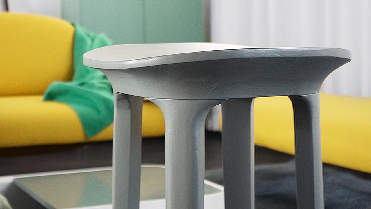 瓦檐小凳选材水曲柳实木,使用全哑光漆面的板木材质,以屋角飞檐式的边际线,4种颜色可选,为你带来有品质的日常生活。