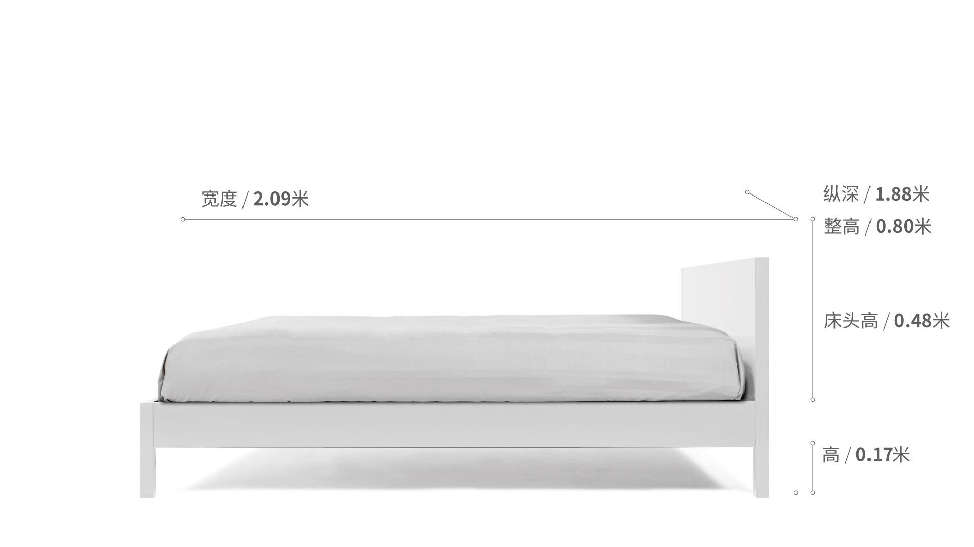 作业本-双人床1.8米款全屋空间搭配清单效果图