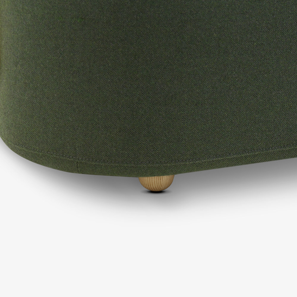 进口白蜡木<br/>可调节圆润沙发腿