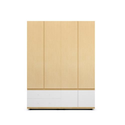 COSMO星格™衣柜·斗柜2.1米高4门衣柜柜架效果图