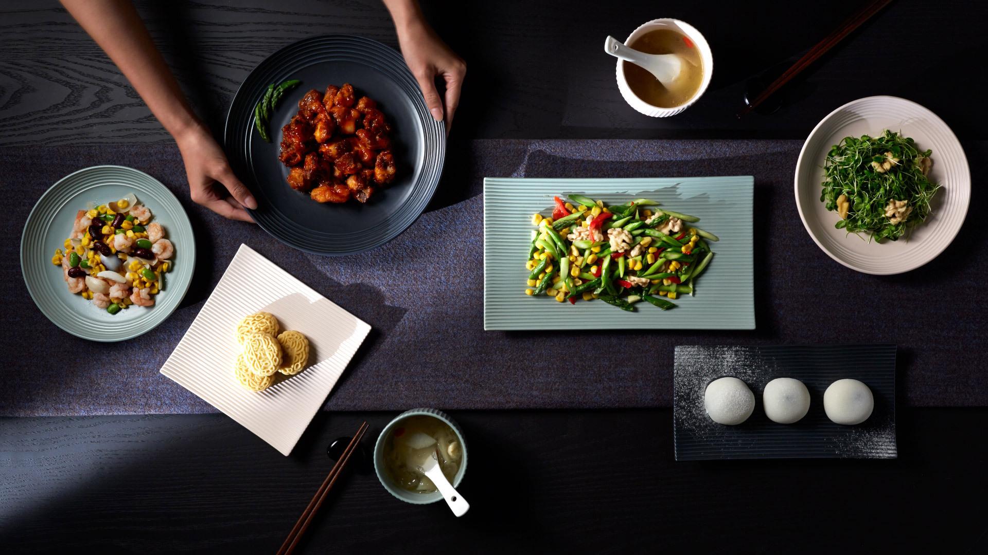 折简餐具组 | Corduroy Tableware