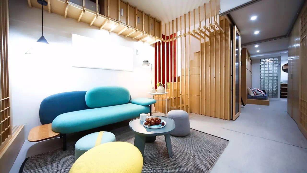 暖暖的新家 X 造作 | 35㎡上海老公房变身4层9室