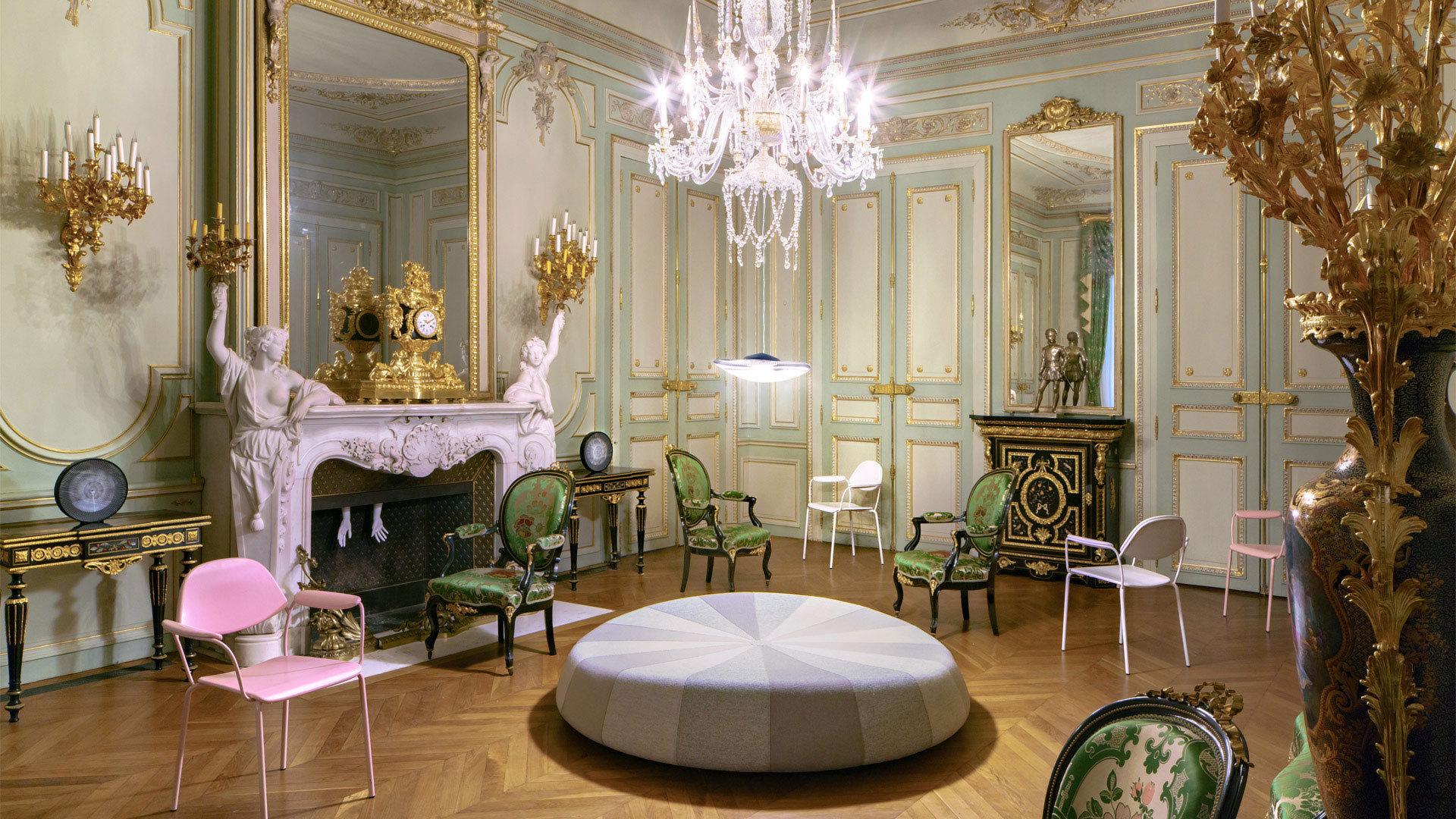 亮相法国法布尔博物馆装置个展