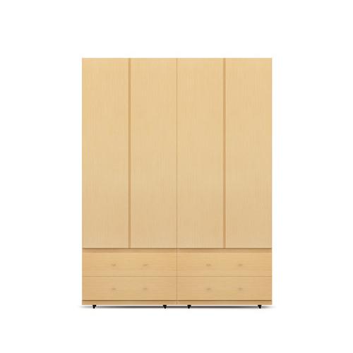 COSMO星格?衣柜·斗柜2.1米高4門衣柜E柜架效果圖