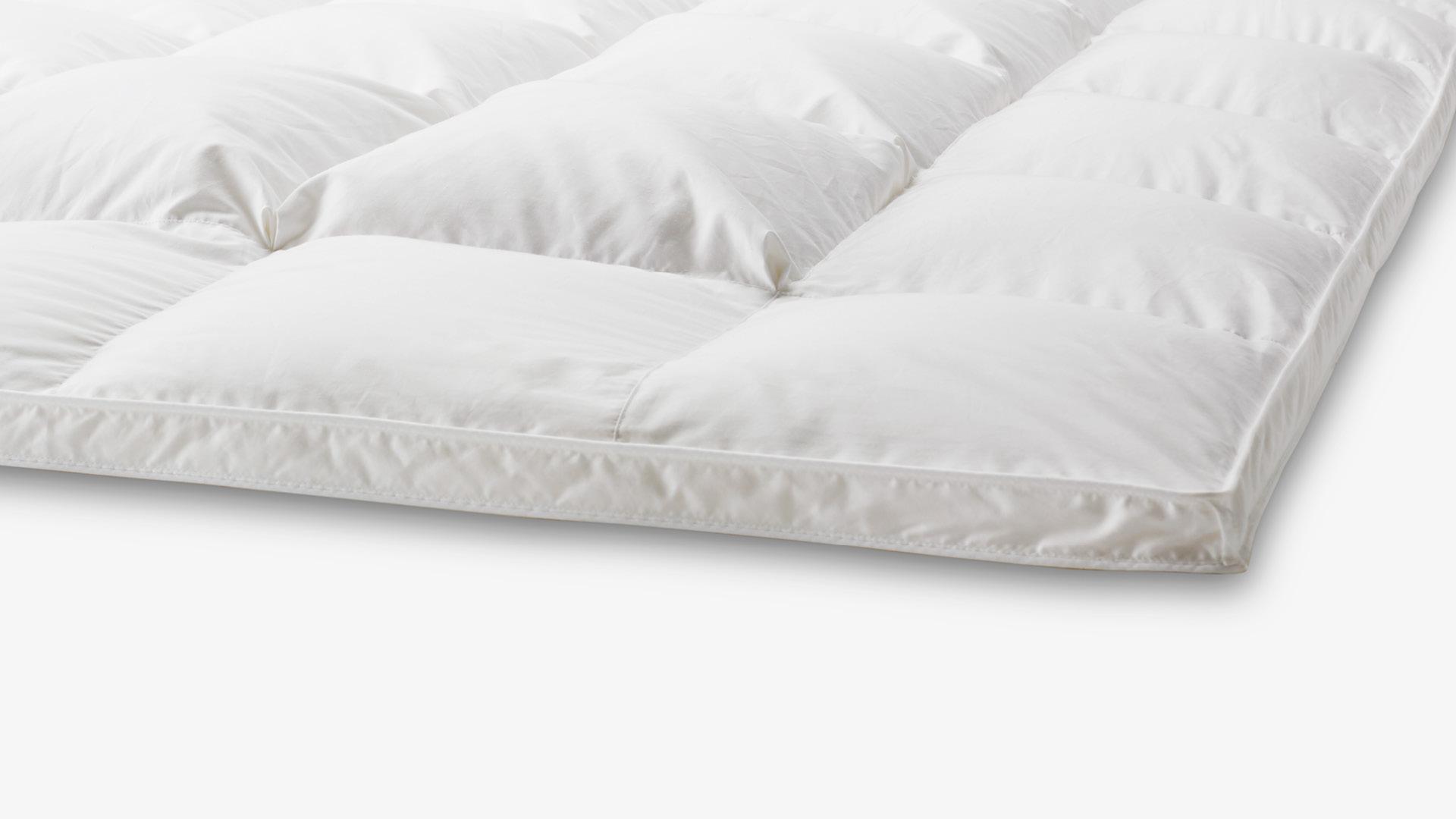 双重结构处理,细腻呵护各种睡姿