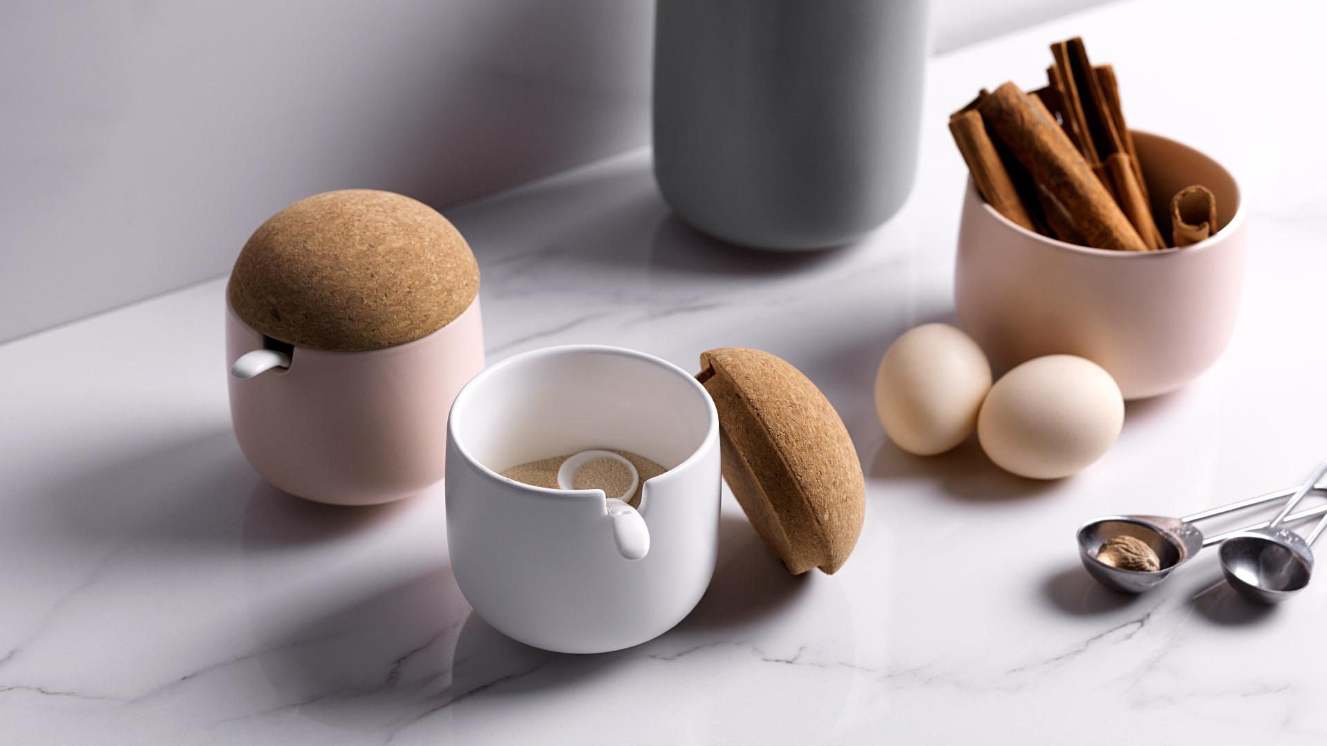 蘑菇调料罐 | Mushroom Jar