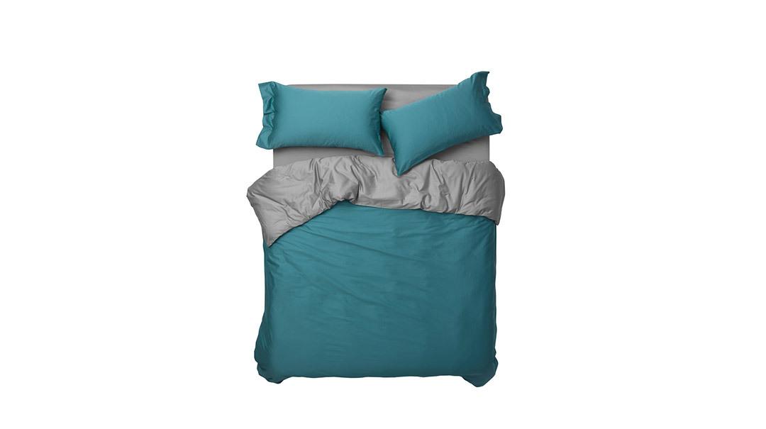 造作锦瑟撞色高支4件套床品™床·床具