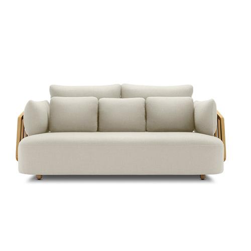 竖琴沙发®大三人座精致版沙发效果图