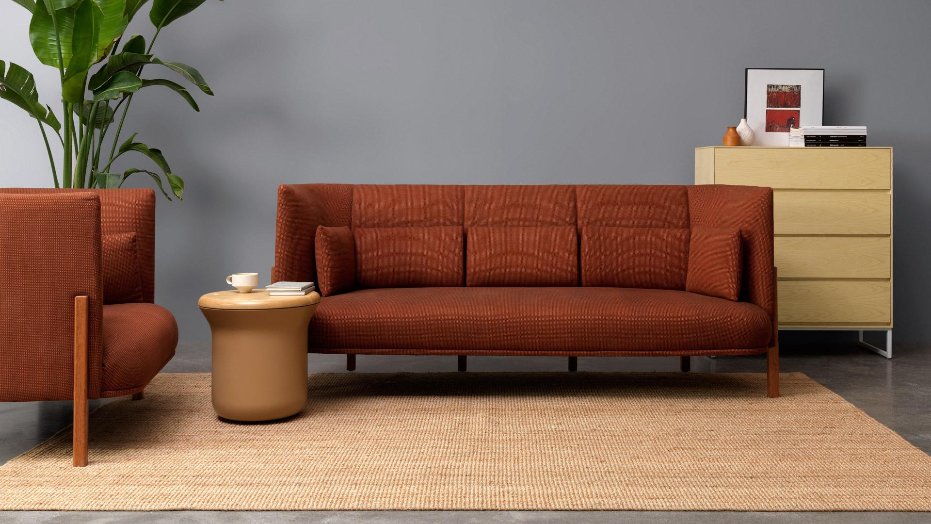 客厅收纳边柜,空间更简洁规整