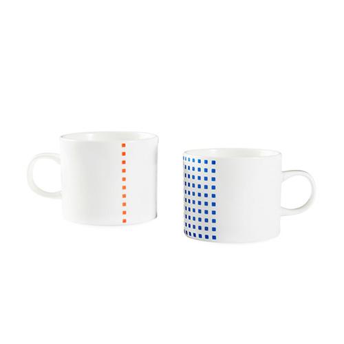 织彩餐具组水杯套装餐具效果图