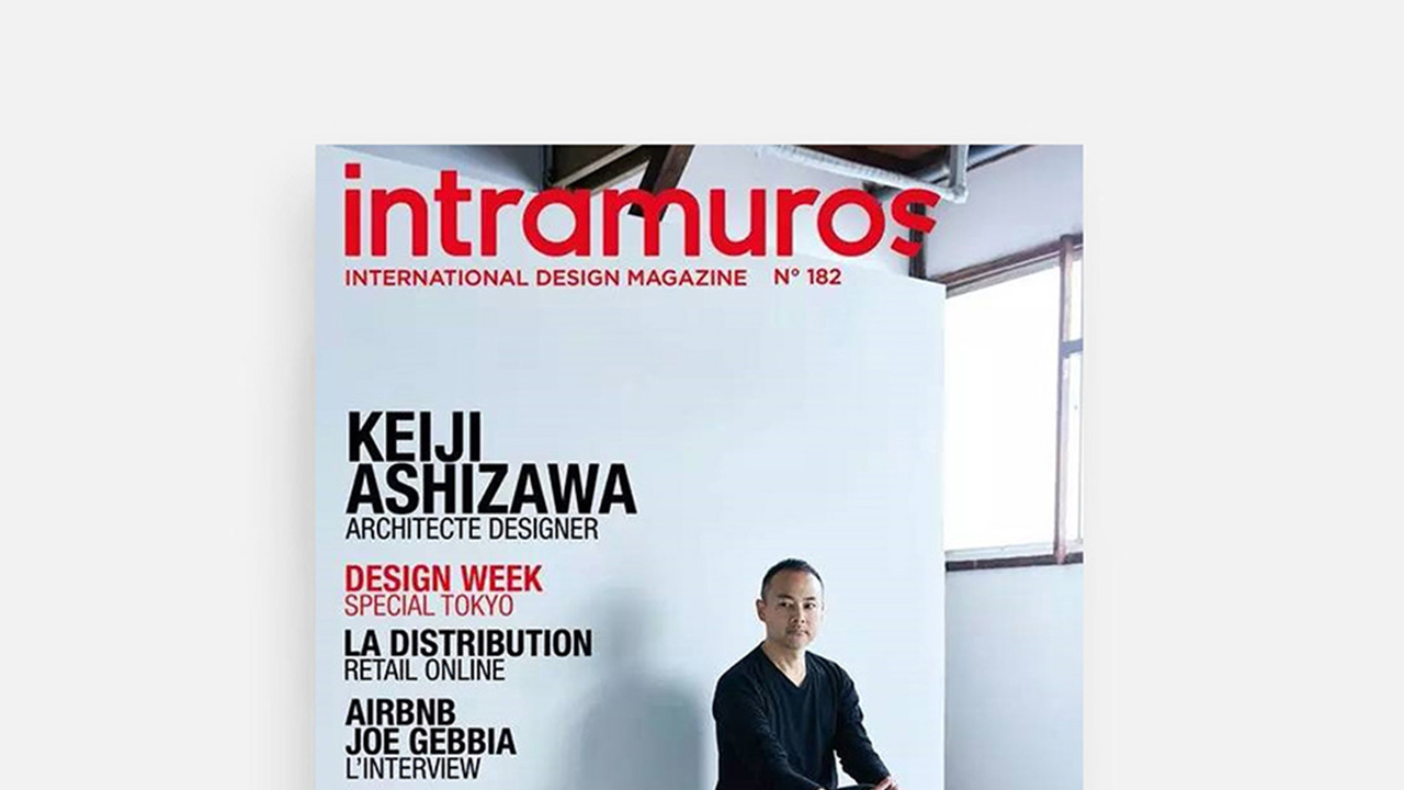 Intramuros 报道|造作签约设计师Keiji Ashizawa的封面故事