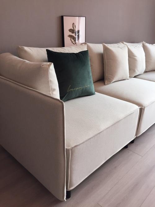 禾子对造作大先生沙发™发布的晒单效果图及评价