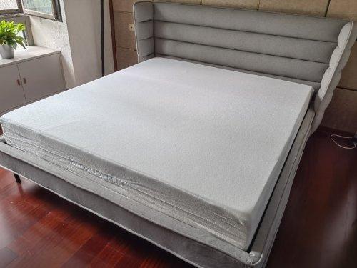 刘尧对匿 床垫发布的晒单效果图及评价