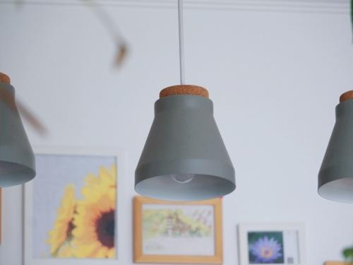 Pine对向晚吊灯发布的晒单效果图及评价