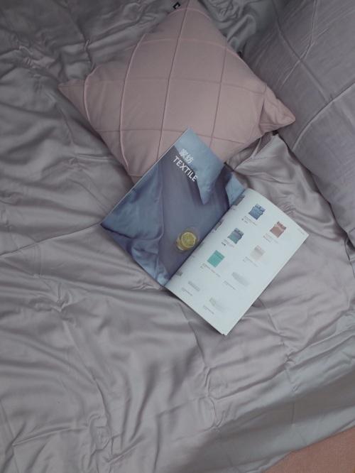 也是.对造作云杉天丝高支4件套床品™发布的晒单效果图及评价