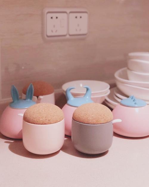 puuumpkin对蘑菇调料罐发布的晒单效果图及评价