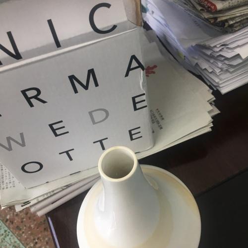 月月_造作山晓釉下彩花瓶™空瓶款怎么样_2