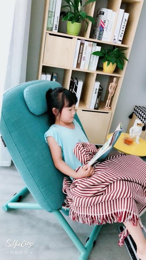 小微对西竹躺椅发布的晒单效果图及评价
