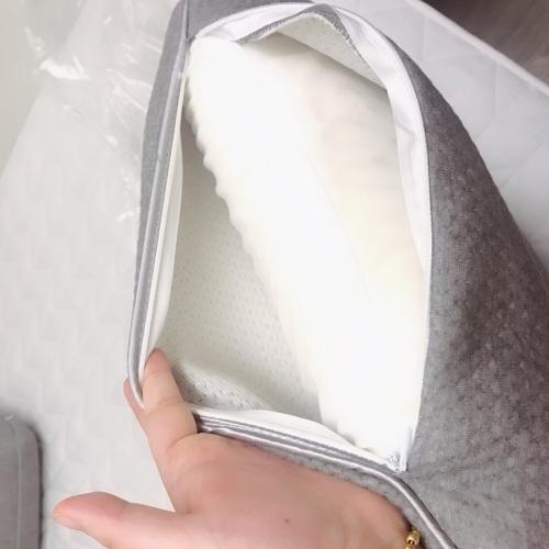图小朵_蛋白天然乳胶快回弹枕怎么样_3