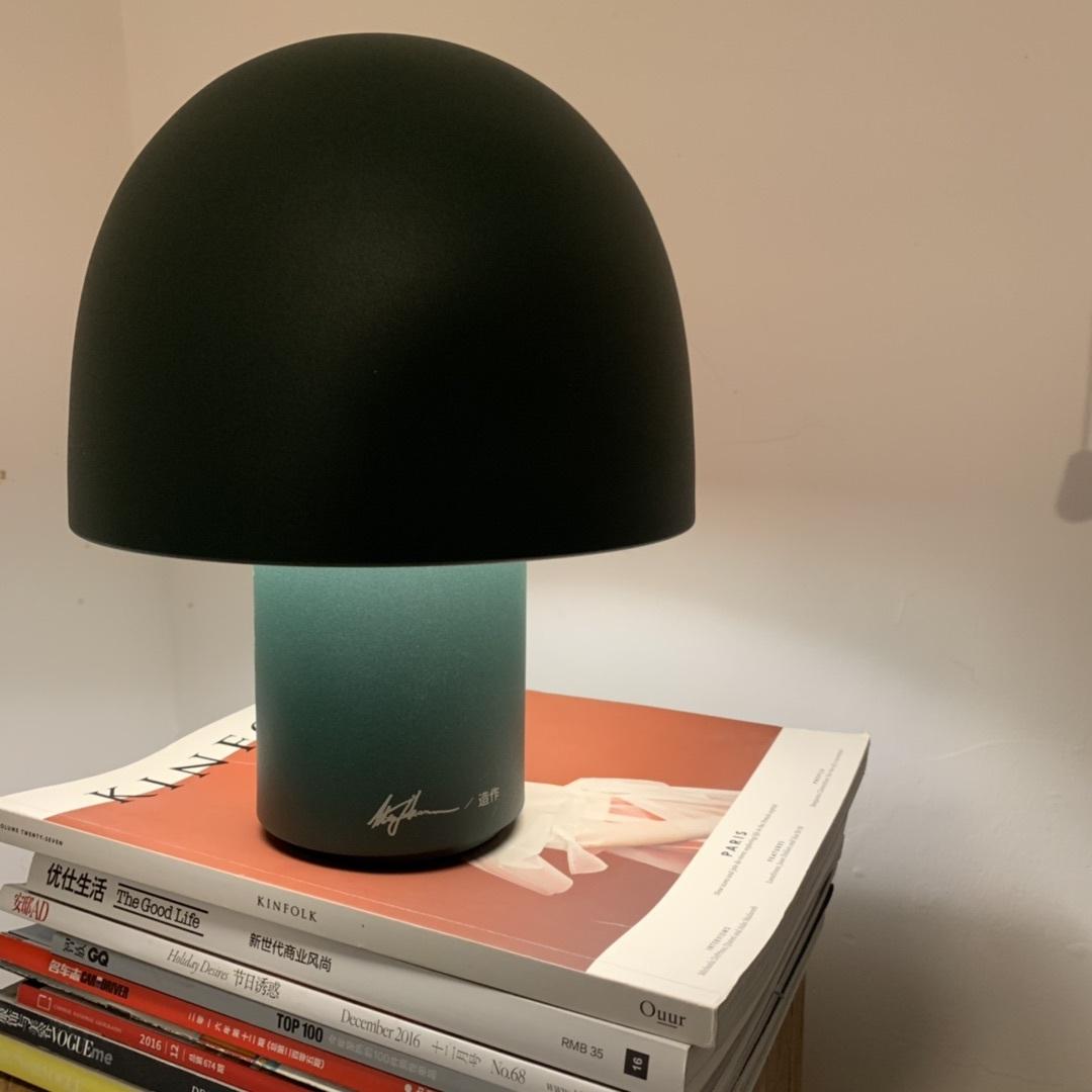 Edward对蘑菇台灯发布的晒单效果图及评价