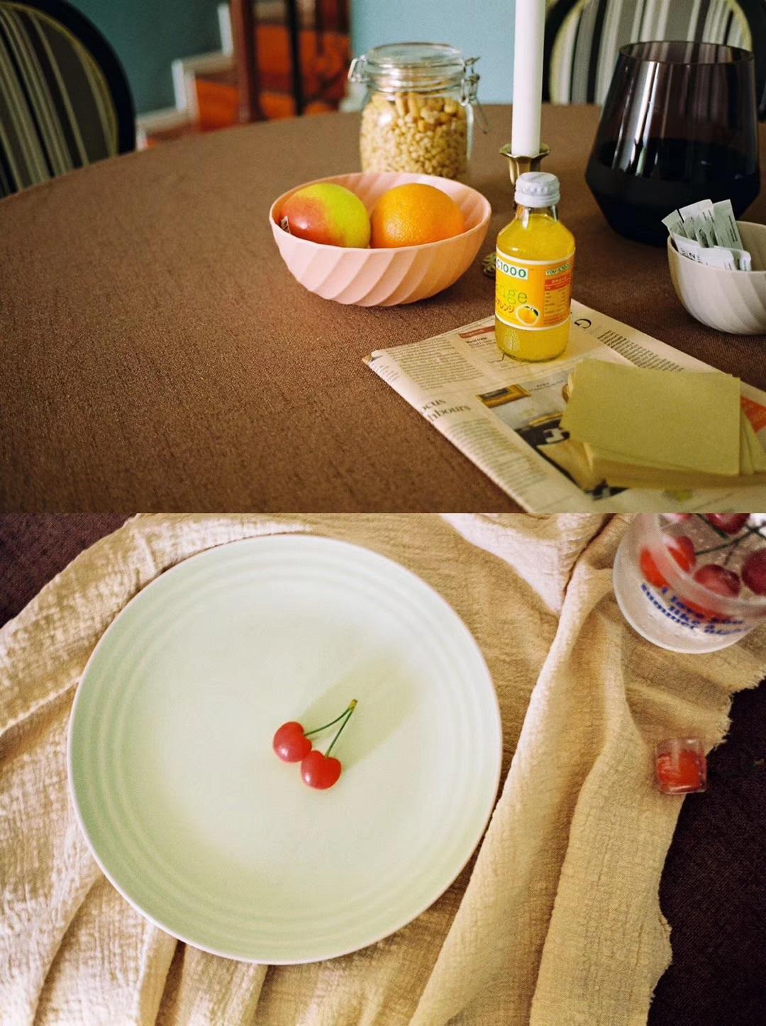 王颖对小象桌面收纳套装发布的晒单效果图及评价