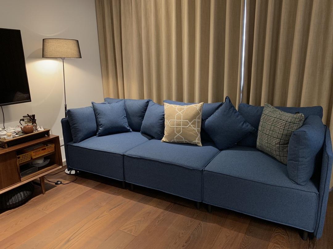 文小刀对造作大先生沙发®发布的晒单效果图及评价