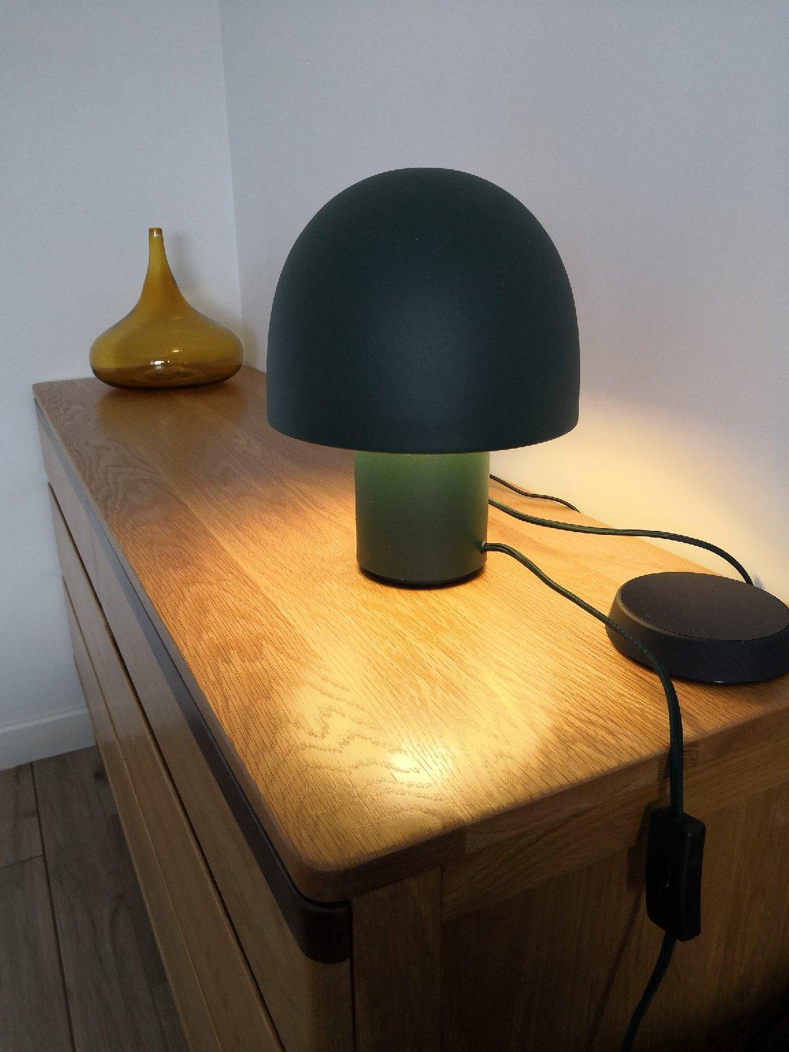 陈军峰对蘑菇台灯发布的晒单效果图及评价