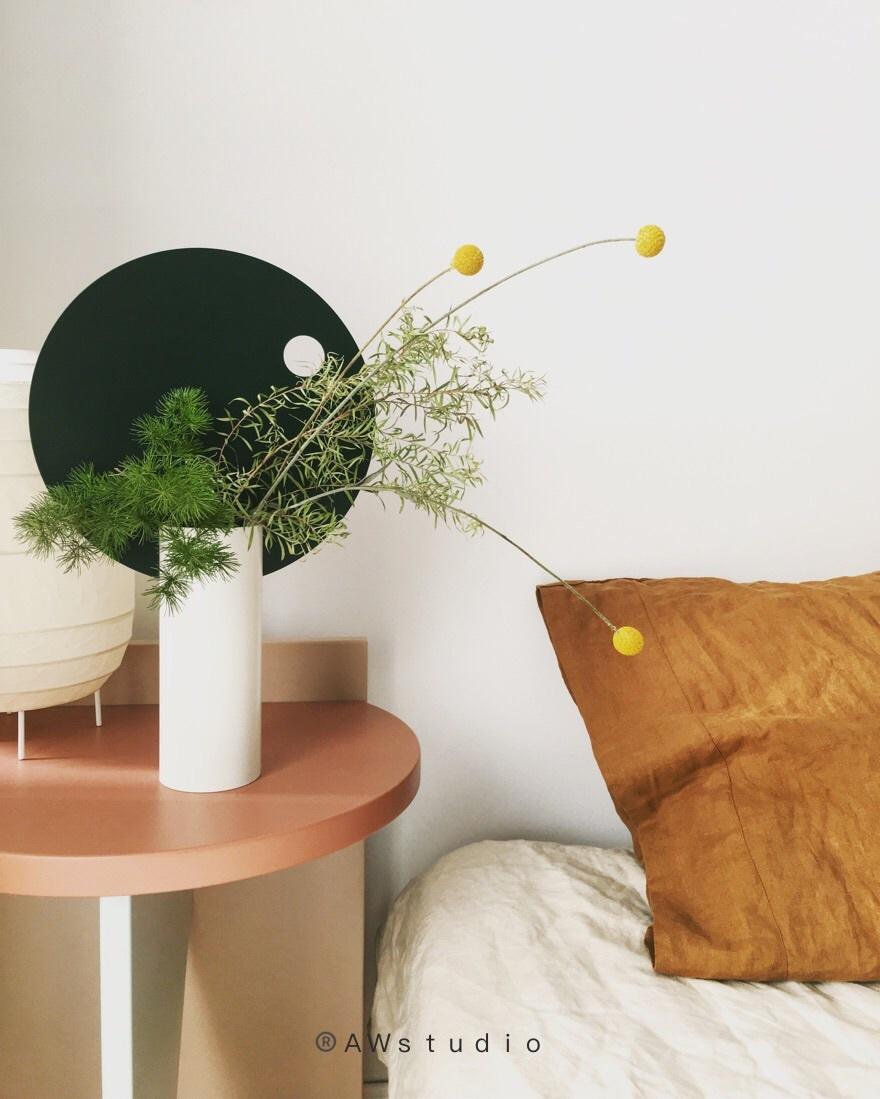 atun对圆率组合装饰花瓶发布的晒单效果图及评价