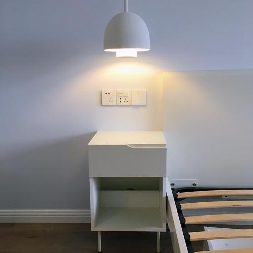 既废且宅对蘑菇吊灯发布的晒单效果图及评价