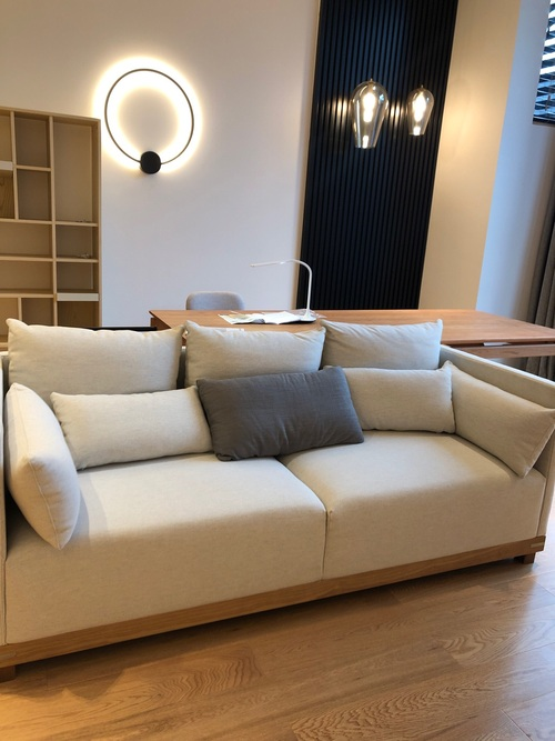 lby对造作远山沙发®发布的晒单效果图及评价