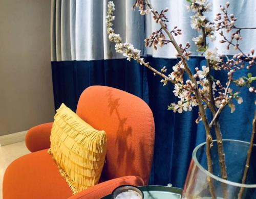 lily对气球沙发发布的晒单效果图及评价
