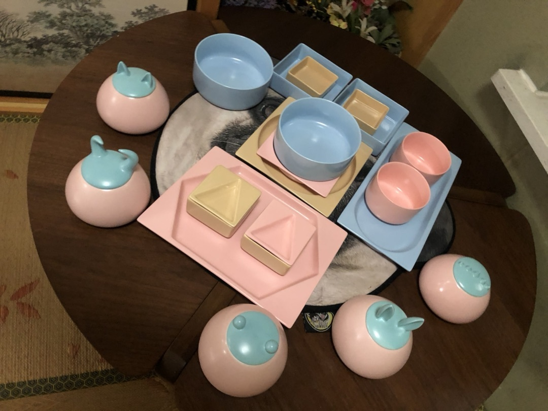 宁宁对翻糖餐具组发布的晒单效果图及评价